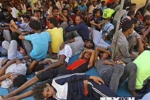 Vấn đề người di cư: Hơn 100 người thiệt mạng ngoài khơi Libya