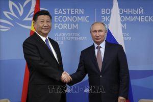 Nga - Trung Quốc đặt mục tiêu tăng kim ngạch thương mại song phương