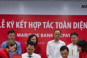 Ngân hàng Maritime Bank phối hợp cùng ECPay hỗ trợ thanh toán tiền điện