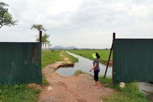UBND xã thừa nhận có khuyết điểm trong quản lý đất đai
