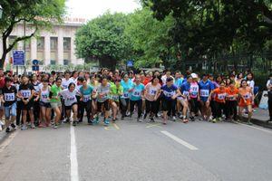 Chung kết giải chạy Báo Hà Nội mới lần thứ 45 – Vì hòa bình quận Hoàn Kiếm năm 2018