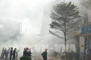 Cháy lớn tại quán bar ngay trung tâm thành phố Đà Nẵng