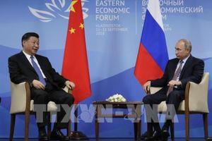 Nga - Trung đặt mục tiêu kim ngạch thương mại song phương đạt 100 tỷ USD