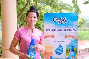 Phụ nữ vùng cao cùng trải nghiệm và chia sẻ thông điệp 'tiết kiệm nước'