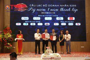 Kỷ niệm 1 năm thành lập CLB Doanh nhân 9295 và công bố thành lập Công ty Quỹ đầu tư 100 tỷ đồng