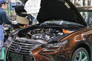 Động đất khiến Toyota tạm ngừng sản xuất tại Nhật Bản