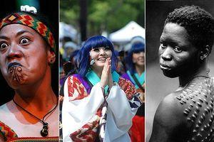 Chùm ảnh: Ngỡ ngàng tiêu chí sắc đẹp đối lập ở các nước trên thế giới