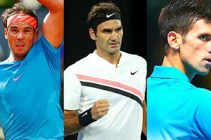 Bảng xếp hạng ATP: Djokovic xếp thứ 3, phả hơi nóng vào Federer