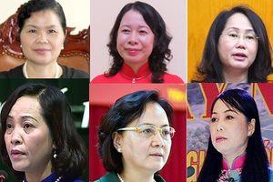 Chân dung 6 nữ Bí thư Tỉnh ủy đương nhiệm