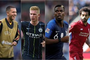Đề cử đội hình tiêu biểu của FIFA: Premier League đóng góp 15 cầu thủ