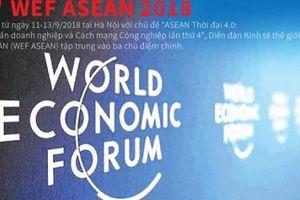 Ba chủ điểm chính của WEF ASEAN 2018