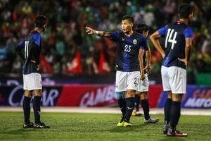 Campuchia thua ngược Malaysia trong ngày ra mắt HLV Keisuke Honda