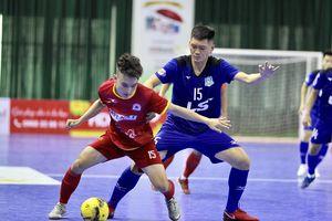 Futsal HDBank VĐQG 2018: Thái Sơn Nam chật vật thắng Tân Hiệp Hưng