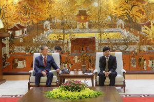 Hàn Quốc đẩy mạnh đầu tư vào Hà Nội