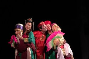 Giao lưu, biểu diễn nghệ thuật truyền thống