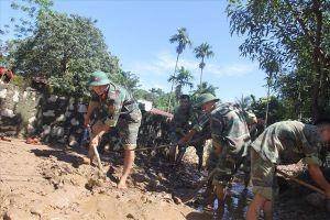 Thanh Hóa nỗ lực khắc phục hậu quả mưa lũ