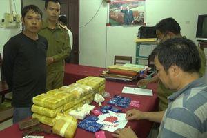 Vận chuyển 114.000 viên hồng phiến, 'trùm' ma túy người Lào 'sa lưới'