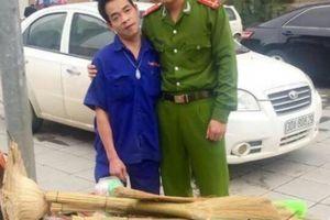 Chàng đại úy công an và câu chuyện về cây chổi chít yêu thương