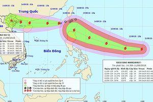 Bão Mangkhut nối đuôi bão Barijat vào Bắc biển Đông