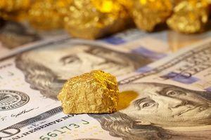 Giá vàng tăng, đồng USD giảm mạnh