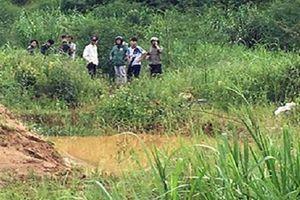 Tìm thấy thi thể nam thanh niên bị nước cuốn trôi xuống suối Sở Lăng