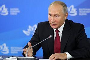 Tổng thống Putin đề nghị ký hiệp ước hòa bình với Nhật Bản vô điều kiện