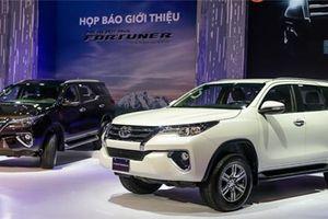 Fortuner trở lại cuộc đua, doanh số bán hàng Toyota tăng mạnh