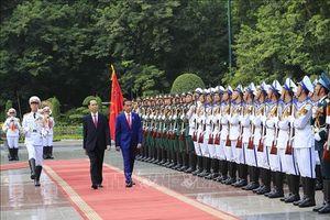 Tuyên bố chung Việt Nam - In-đô-nê-xi-a về tăng cường quan hệ Đối tác Chiến lược