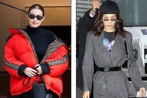 Gu thời trang đẳng cấp, sành điệu của chị em Gigi Hadid và Bella Hadid