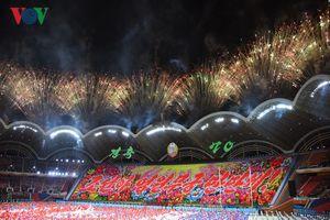 Xem lại màn đồng diễn có một không hai chào mừng Quốc khánh Triều Tiên