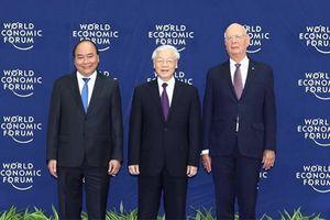 Một số hình ảnh tại Hội nghị WEF ASEAN 2018 khai mạc sáng nay