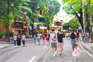Hà Nội đón gần 20 triệu lượt khách trong 9 tháng năm 2018