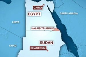 Sudan muốn Ai Cập giao quyền kiểm soát Tam giác Halayeb
