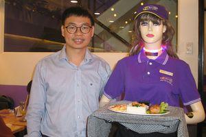 Robot Cô Ba phục vụ nhà hàng biết la khi bị quấy rối tình dục