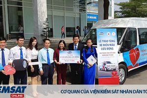 Vinamilk tặng xe hiến máu 1 tỷ đồng cho trung tâm hiến máu nhân đạo TP. Hồ Chí Minh