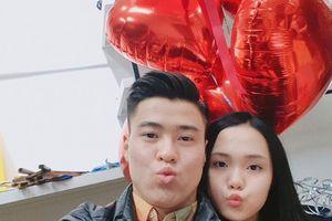 Bạn gái tiết lộ sự nhút nhát của Duy Mạnh ngày Valentine