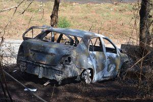 Hé lộ nguyên nhân ban đầu vụ 2 cha con chết cháy trong xe ô tô