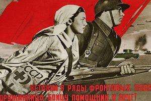 'Vì Tổ quốc': Hồng quân qua tranh áp phích Liên Xô xưa cũ