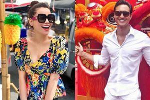 Cặp đôi Hà Hồ - Kim Lý du lịch Thái Lan đầu năm mới