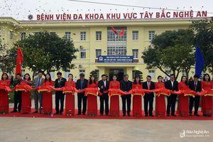 Khánh thành trụ sở mới Bệnh viện Đa khoa Tây Bắc Nghệ An