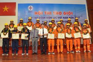 Hội thi Thợ giỏi cấp Tập đoàn Điện lực Việt Nam: Tiếp tục hướng tới lực lượng lao động trực tiếp tại cơ sở