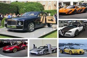 10 siêu xe đắt nhất trên thế giới: Có tiền chưa chắc có xe