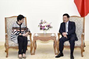 ITC cam kết hỗ trợ doanh nghiệp Việt Nam tiếp cận thông tin, mở rộng thị trường