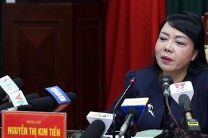'Chúng tôi rất suy nghĩ khi bỏ phiếu cho bà Nguyễn Thị Kim Tiến'