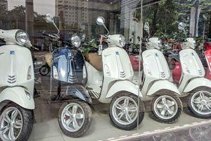 Tại sao xe máy Piaggio, Vespa tại Việt Nam ngày càng ế?