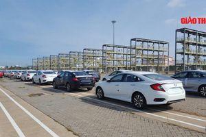 Cận cảnh lô nghìn ô tô Honda cập cảng, sắp bán tại Việt Nam