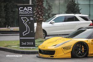Hành trình Car & Passion 2018 đang dần nóng lên tại Hà Nội