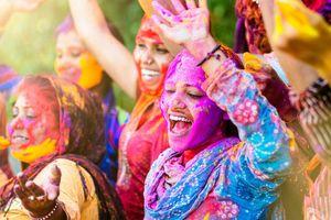 Kỳ bí lễ hội màu sắc đầu năm của người Ấn Độ