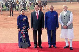 Toàn cảnh chuyến thăm Ấn Độ của Chủ tịch nước Trần Đại Quang