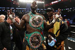 Deontay Wilder bảo vệ thành công đai WBC, thách đấu Anthony Joshua